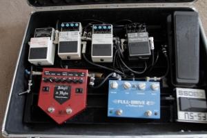 Matt's pedal board